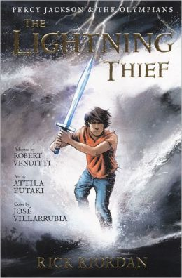 The Lightning Thief (Graphic Novel) (Turtleback School & Library Binding Edition)