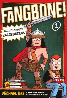 Fangbone! Third-Grade Barbarian (Turtleback School & Library Binding Edition)