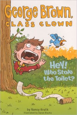 Hey! Who Stole the Toilet? (Turtleback School & Library Binding Edition)