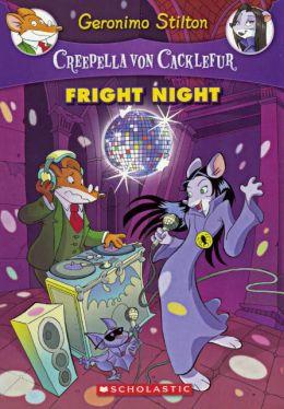 Fright Night (Creepella Von Cacklefur Series #5) (Turtleback School & Library Binding Edition)