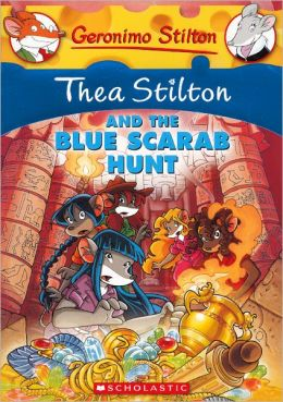 Thea Stilton and the Blue Scarab Hunt (Turtleback School & Library Binding Edition)