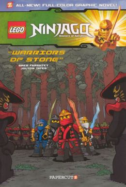 Warriors of Stone (LEGO Ninjago Series #6) (Turtleback School & Library Binding Edition)