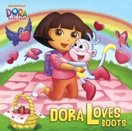 Dora Loves Boots (Turtleback School & Library Binding Edition)