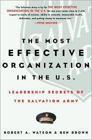 The Most Effective Organization in the U.S.