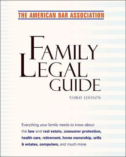 American Bar Association Family Legal Guide
