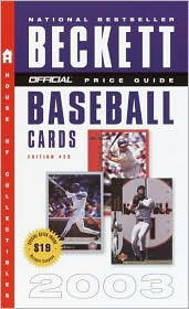 The Official Price Guide to Baseball Cards