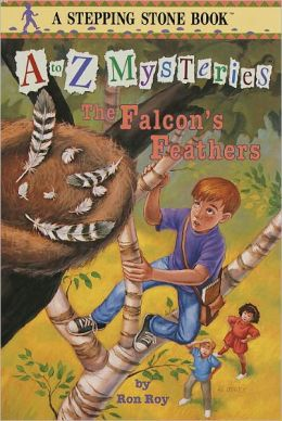 The Falcon's Feathers (A to Z Mysteries Series #6) (Turtleback School & Library Binding Edition)