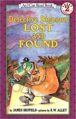 Detective Dinosaur Lost and Found (Turtleback School & Library Binding Edition)