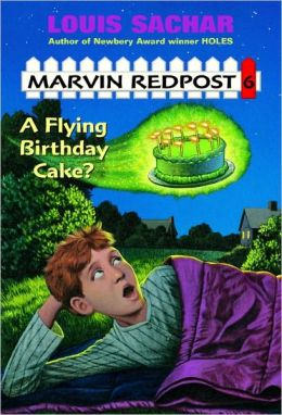 A Flying Birthday Cake? (Marvin Redpost Series #6) (Turtleback School & Library Binding Edition)