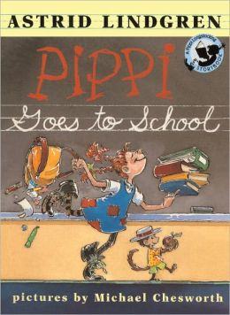 Pippi Goes To School (Turtleback School & Library Binding Edition)