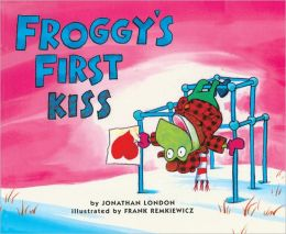Froggy's First Kiss (Turtleback School & Library Binding Edition)