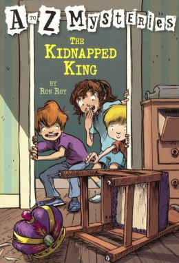 The Kidnapped King (A to Z Mysteries Series #11) (Turtleback School & Library Binding Edition)