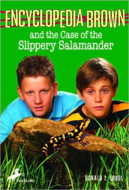 Encyclopedia Brown and the Case of the Slippery Salamander (Encyclopedia Brown Series #22) (Turtleback School & Library Binding Edition)
