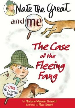 Nate the Great and Me: The Case of the Fleeing Fang (Turtleback School & Library Binding Edition)