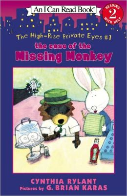 The Case of the Missing Monkey (High-Rise Private Eyes Series #1) (Turtleback School & Library Binding Edition)