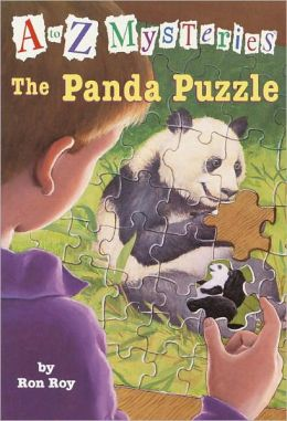 The Panda Puzzle (A to Z Mysteries Series #16) (Turtleback School & Library Binding Edition)