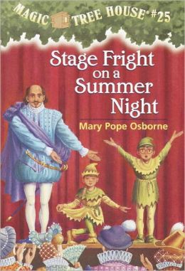 Stage Fright On A Summer Night (Turtleback School & Library Binding Edition)