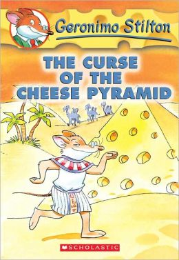 The Curse of the Cheese Pyramid (Geronimo Stilton Series #2) (Turtleback School & Library Binding Edition)