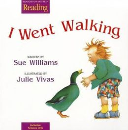 Houghton Mifflin Reading: The Nation's Choice: Little Big Book Theme 2 Grade K I Went Walking