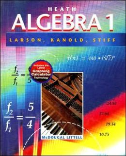 Algebra 1: Includes the Latest Graphing Calculator Technology