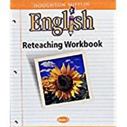 Houghton Mifflin English: Reteach Workbook Consumable Level 2