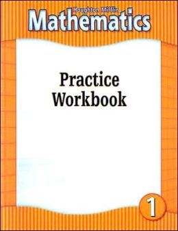 Houghton Mifflin Mathmatics: Practice Workbook Consumable Level 1 2002