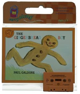 The Gingerbread Boy Book & Cassette