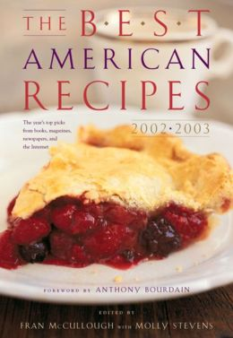 The Best American Recipes 2002-2003