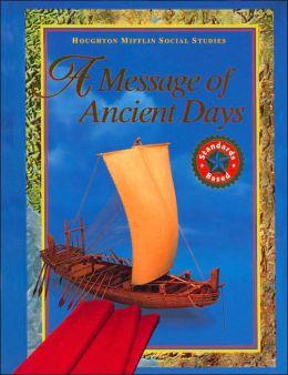 Houghton Mifflin Social Studies: Student Edition Grade 6 Revision 2003