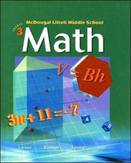 McDougal Littell Middle School Math: Students Edition Course 3 2004