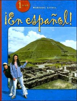 ?En espa?ol!: Pupil Edition Hardcover Level 1 2004