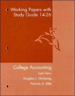 College Accounting - Working Papers 14-26