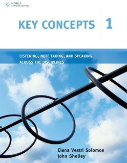 Key Concepts 1: Listening, Note Taking, and Speaking Across the Disciplines
