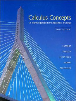Calculus Concepts: An Informal Approach to Mathematics of Change