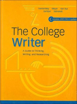 The College Writer, MLA Update