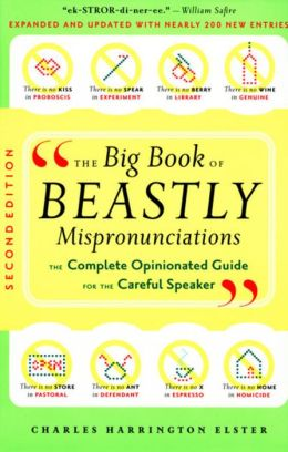 The Big Book Of Beastly Pronunciations