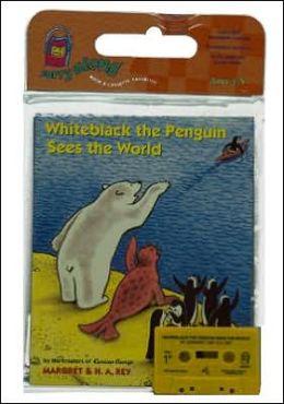 Whiteblack the Penguin Sees the World Book & Cassette