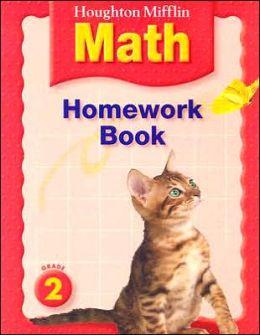 Houghton Mifflin Mathmatics: Homework Book Consumable Level 2
