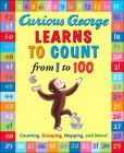 Product Image. Title: Curious George Learns to Count from 1 to 100