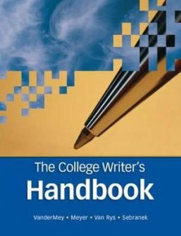 The College Writer's Handbook