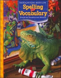 Houghton Mifflin Spelling and Vocabulary: Consumable Student Book Grade 5 2006