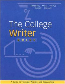 The College Writer: Brief