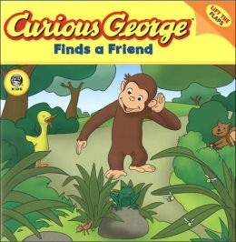 Curious George Finds a Friend (CGTV Lift-the-Flap 8x8)