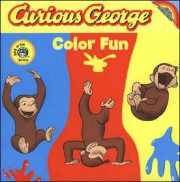 Curious George Color Fun (CGTV Board Book): Die-cut Board Book