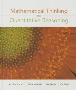 Mathematical Thinking and Quantitative Reasoning