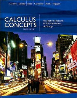 Calculus Concepts: An Applied Approach to the Mathematics of Change