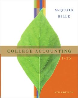 College Accounting, Chapters 1-13