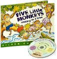 Product Image. Title: Five Little Monkeys Sitting in a Tree