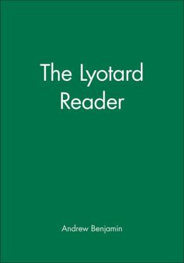 The Lyotard Reader