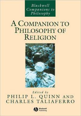 Companion to Philosophy of Religion